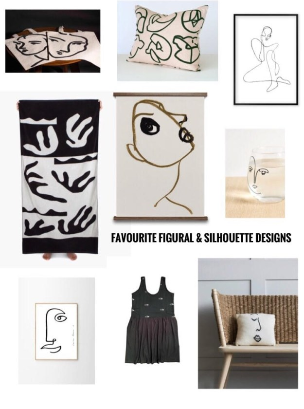 Interior design Trend Ideas - Figural and silhouette illustration and motifs - matisse picasso