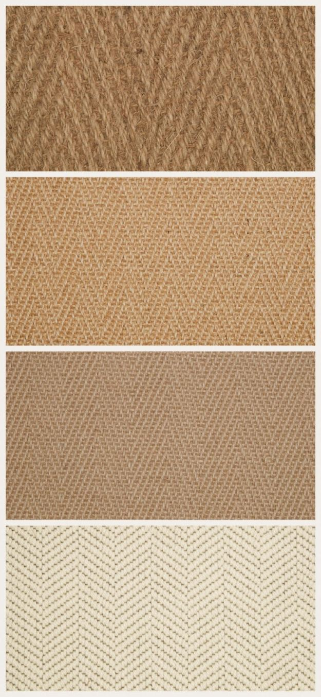 Kersaint Cobb Natural Carpet Herringbone weave