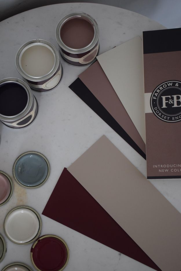 New Farrow & Ball Colour Palette 2018
