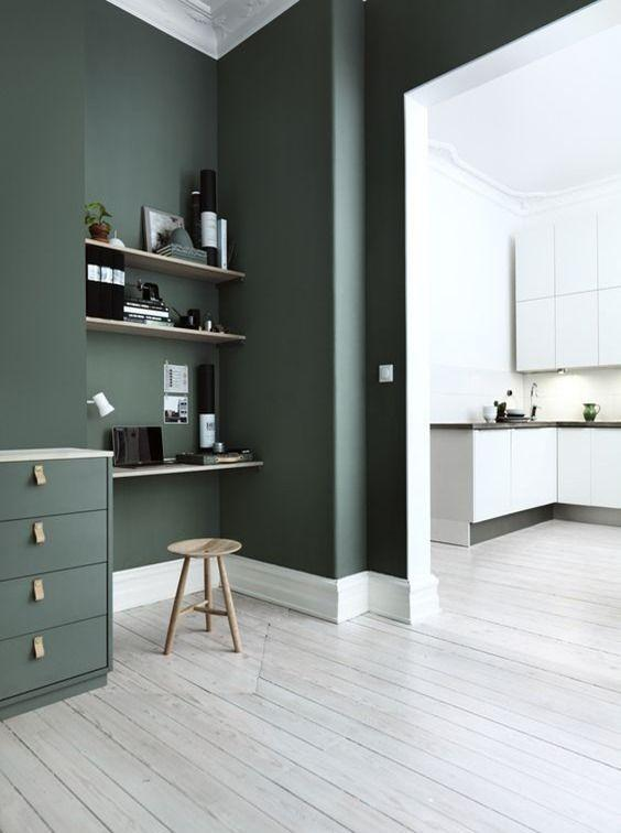 Green Smoke by Farrow & Ball