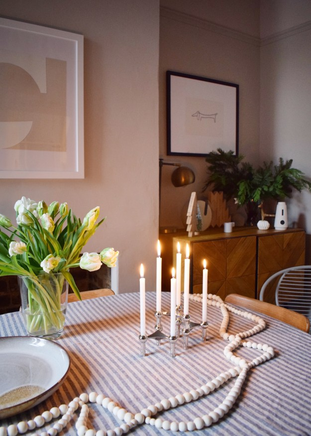New Years minimalist reflections and intentions in the home