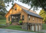 Comfortable Ranch Style Barndominium for Small Families