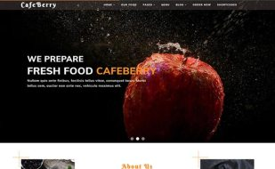 food template restaurant related websites