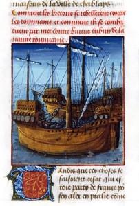 Bitwa między flotą rzymską a Wenetami w zatoce Morbihan, 56 r. p.n.e.