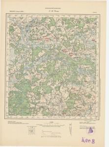 Iwie okolice 1895, 1900. aktualizacja 1923 (ros).