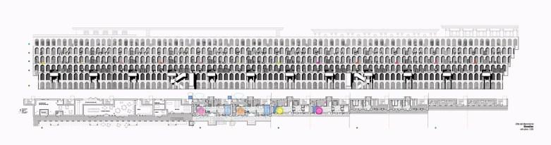 Elevation w plans layout colour5