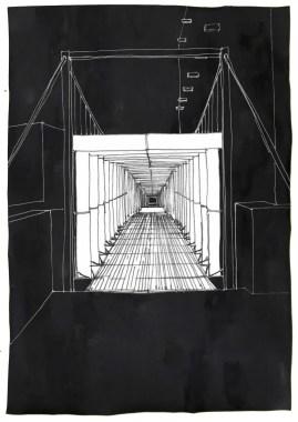Entering the Walkway