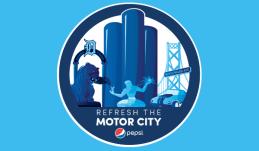 Mega City Logo for Pepsi