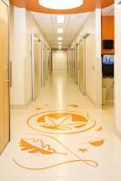 Intricate Floor Pattern - Orange