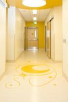 Intricate Floor Pattern - Yellow