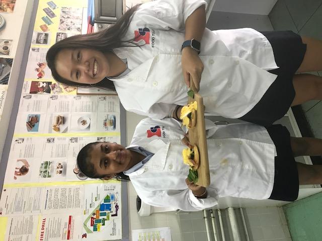 Week 6 (Mother Sauces) – Eggs Benedict Challenge. Chefs of the Week Piya and rachel