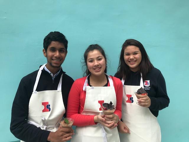 Chilled desserts Star Bakers – Ananth, Priya and Jasmine