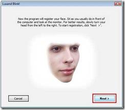Blink! Programa para reconhecimento facial no windows