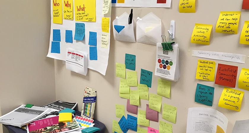 Human-centered design hallway