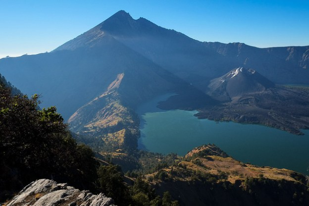 Early morning on Gunung Rinjani