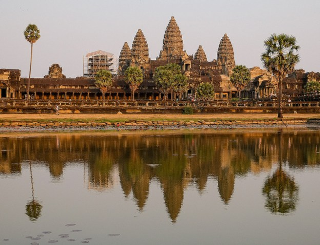 Angkor Wat at sunset