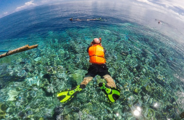 Snorkeling in the Togean Islands