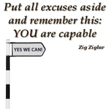 You are capable sign