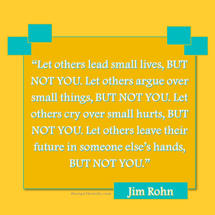 Jim Rohn Quote on mental habits