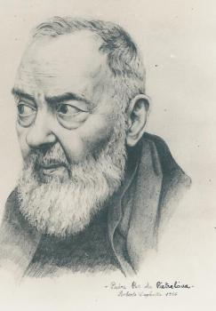 """Saint Pio of Pietrelcina stated: """"Through the study of books one seeks God; by meditation one finds him."""