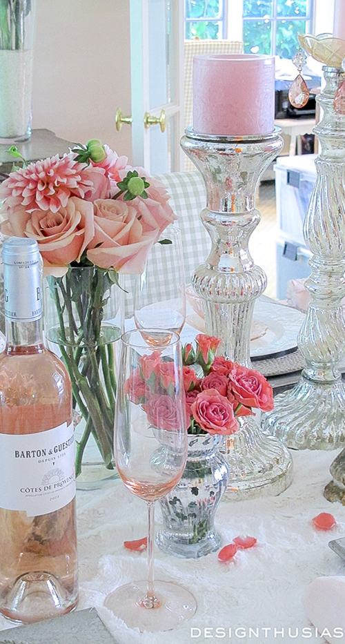 Chippy Dinner Party: Setting a Table with Shabby Chic Accessories