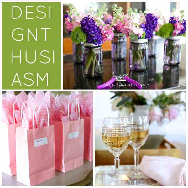 Wine, Flowers and Sunshine | Designthusiasm.com