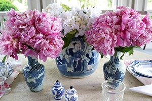 The Enchanted Home tablescape