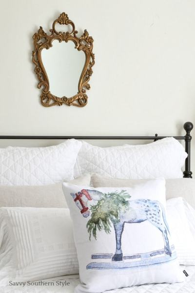 French Country guest bedroom Savvy