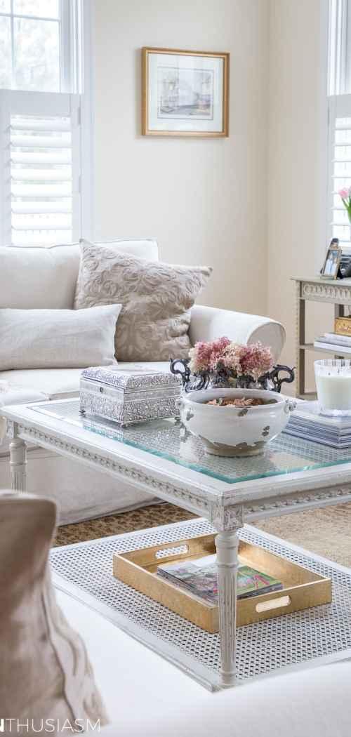 functional casually elegant family room - designthusiasm.com