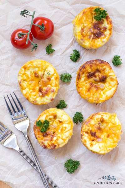 on sutton place breakfast egg muffins