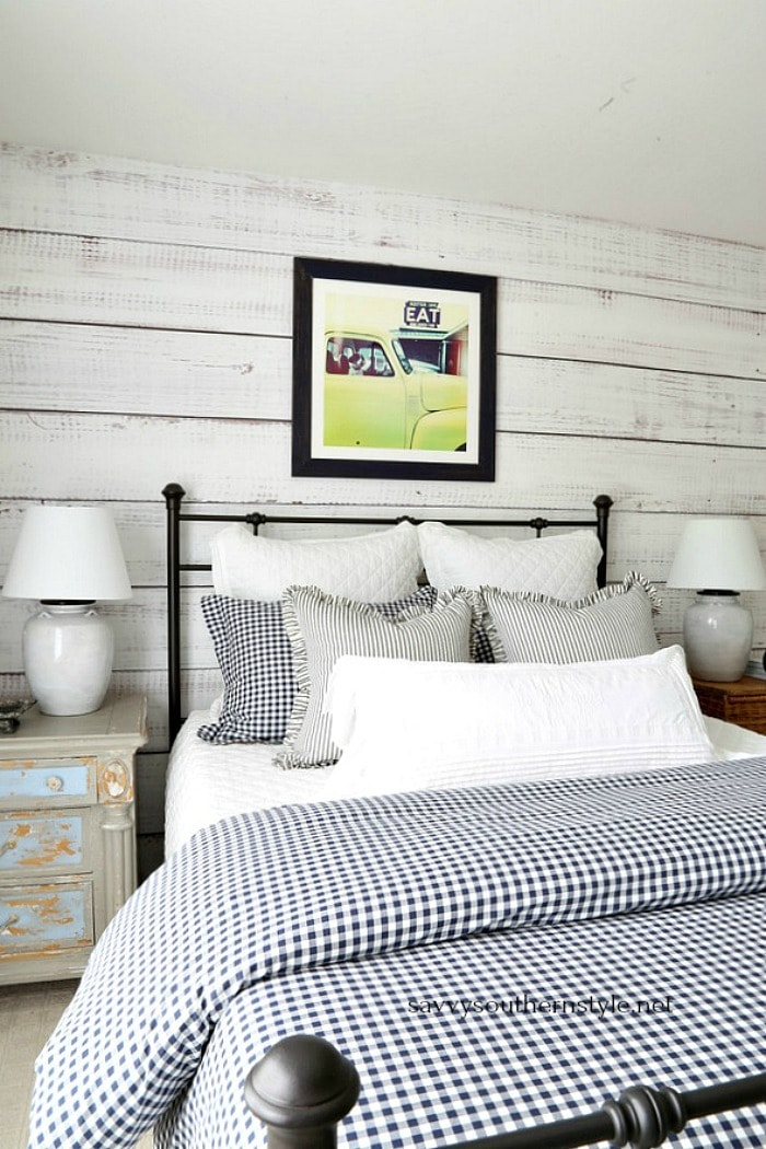 farmhouse style bedroom