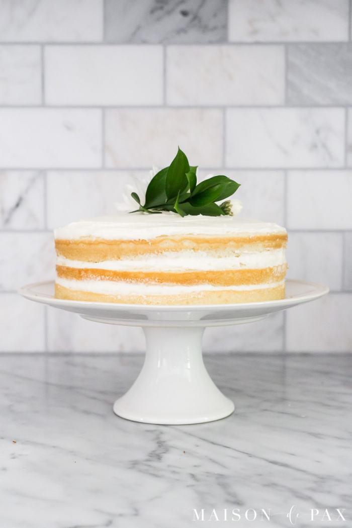 MAISON DE PAX tips easy naked cake