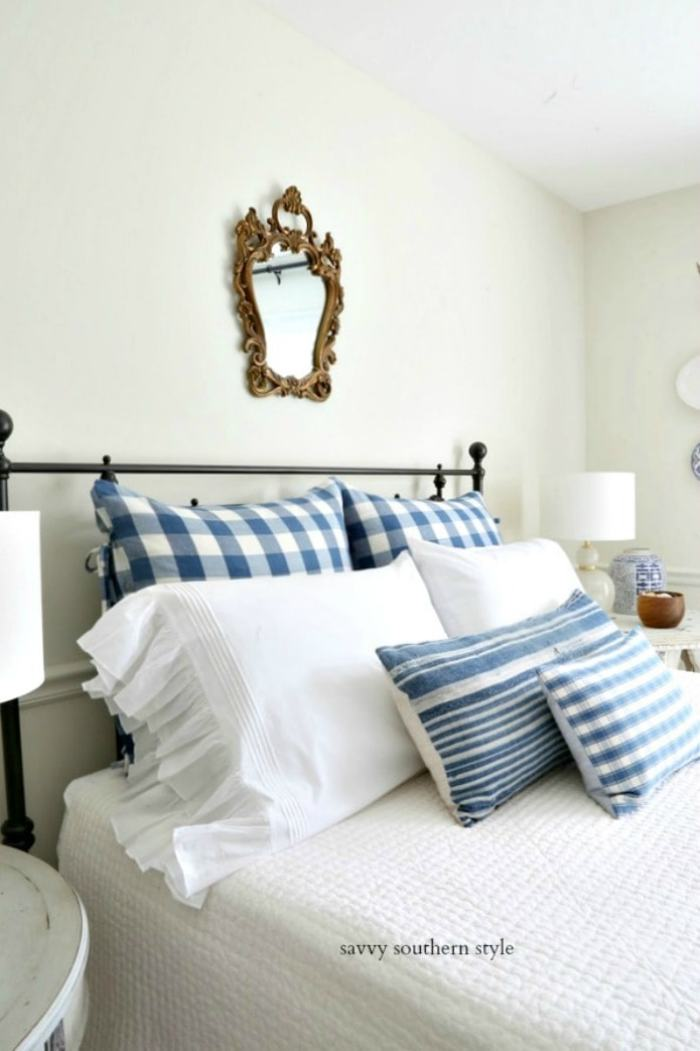 summer style bedroom