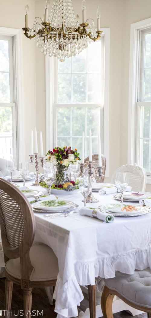 Grape Harvest Decor Fall Tablescape