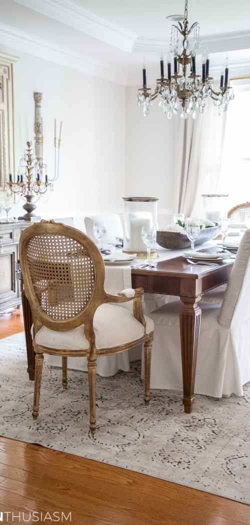 The Evolution of a French Country Dining Room: From Old School to Modern