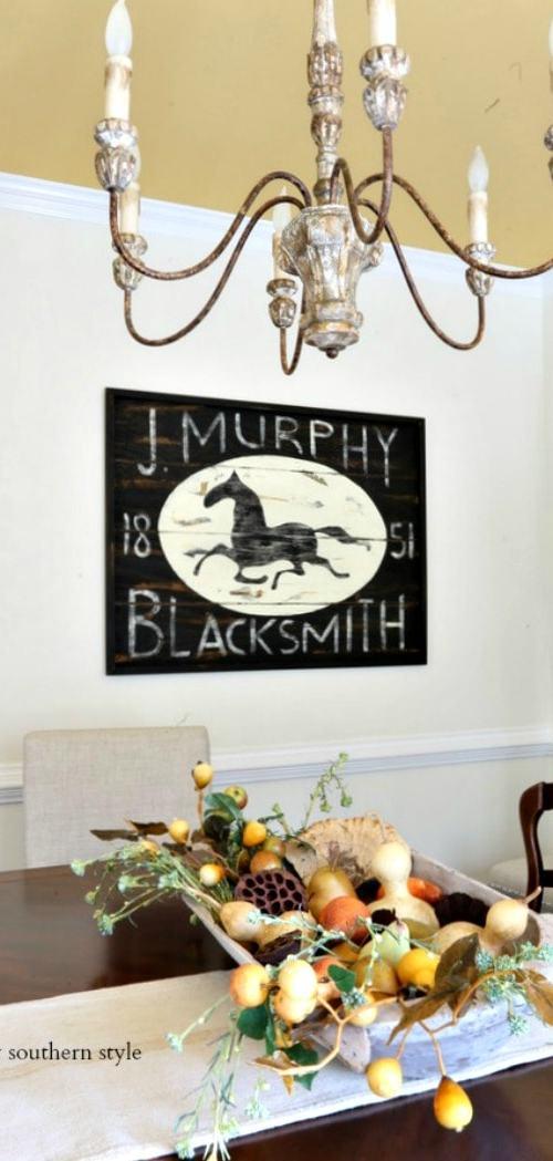 blacksmith sign