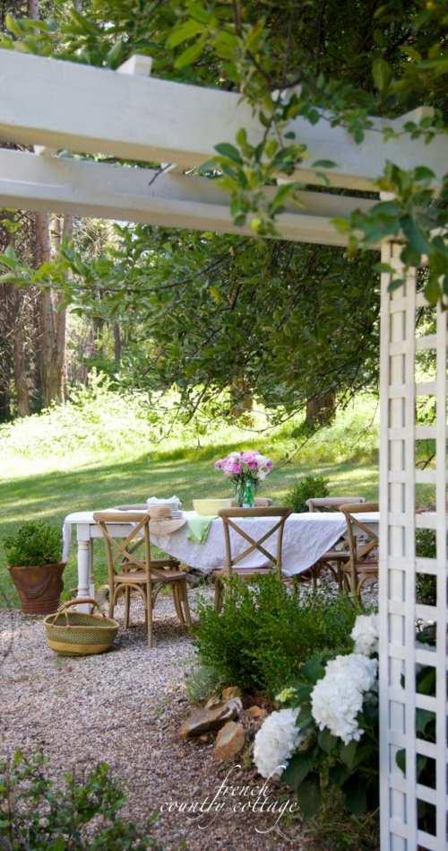 Outdoor refresh planning
