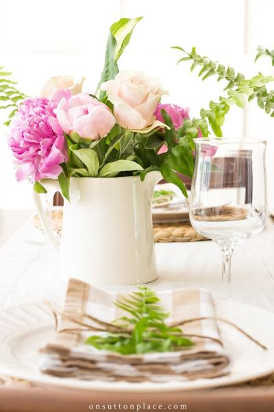 Summer Table Setting Ideas from On Sutton Place