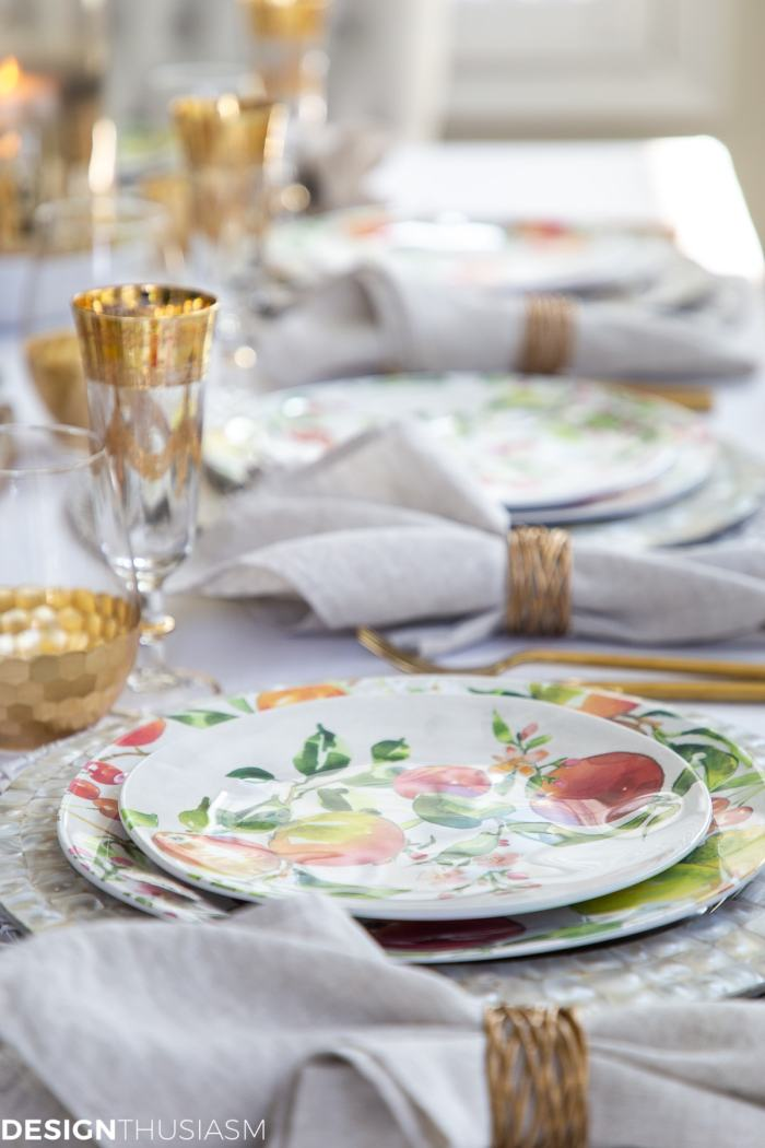informal table setting ideas