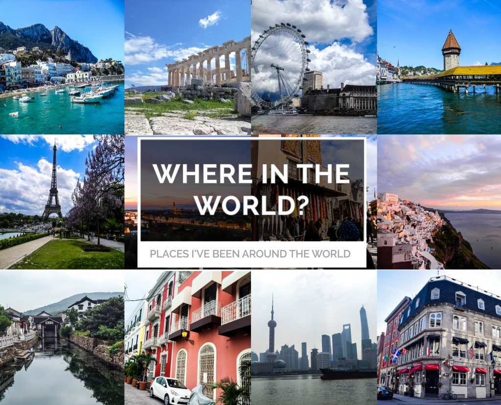 Travel Desinations: Where in the world? Travel Destinations on Design to Five - a travel based blog for culture, travel, and all things design