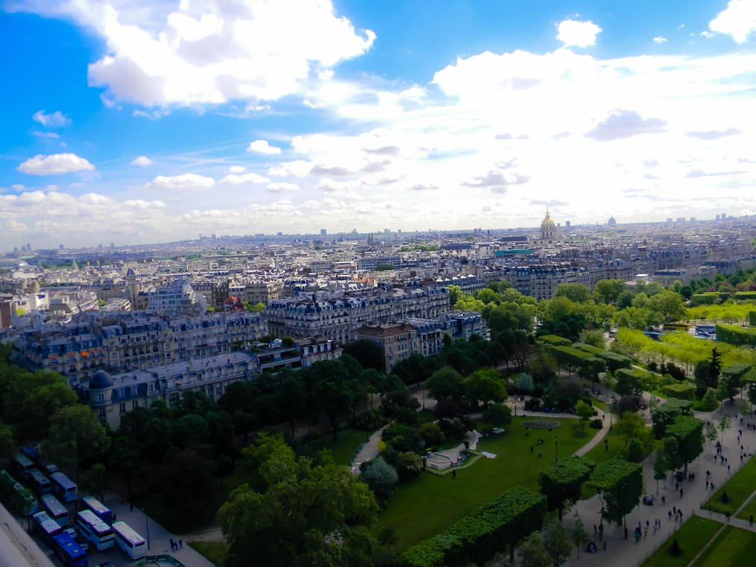 View from Eiffel Tower - Paris, France