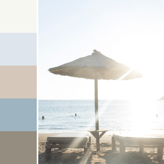 Touch of Sand Color Palette