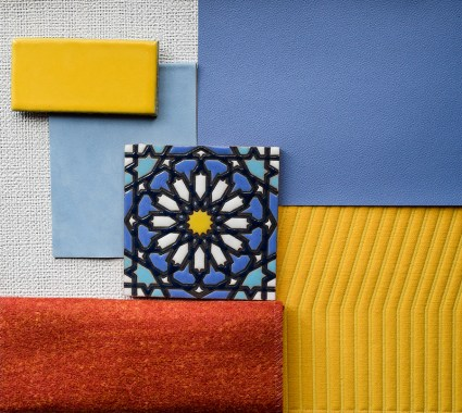 Material Palette - Pena Palace - Primary Color Palette