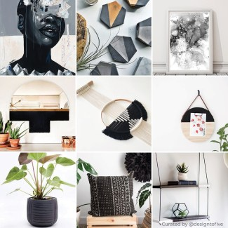 Perle Noir - Curated Collection - Charcoal Home Decor