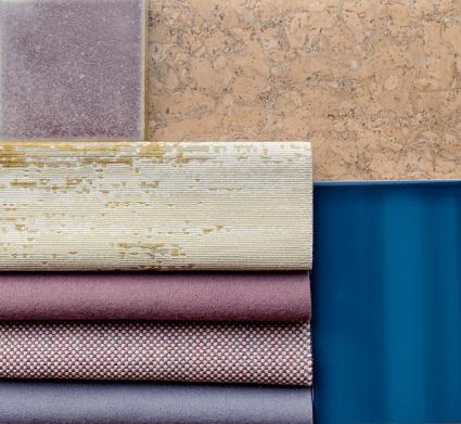 Sagres Portugal Inspired Color Palette - Material & Finish Palette