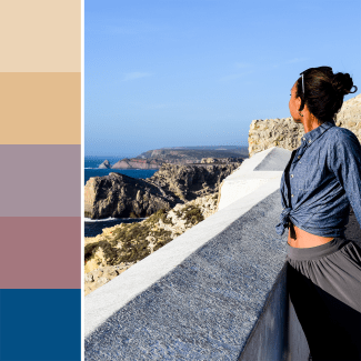 Sagres Portugal Inspired Color Palette
