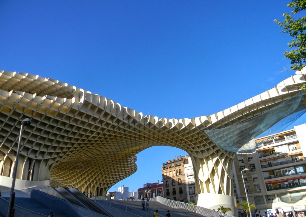 Streets of Seville -Metropol Parasol
