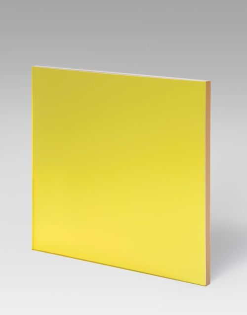 Illuminating Yellow - Yellow Resin Panel - Transparent Finish - 3form - Chroma - Chirp Y20