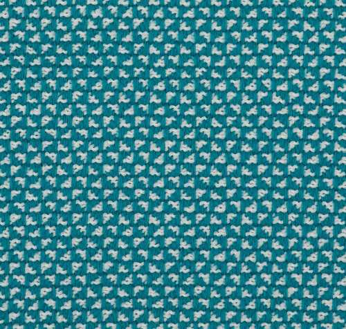 Teal Aqua Patterned Upholstery - Pollack Hospitality - Buenos Aires - Lagoon
