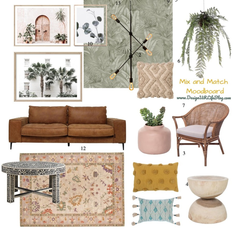 Mix and Match Moodboard